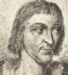 """Pierre Terrail (ca 1475-1524), Seigneur de Bayard. Page du duc de Savoie, il passa au service du roi de France. Il prit part à toutes les campagnes de Louis XII et fut surnommé pour cela « le chevalier sans peur et sans reproches ». Il se signala particulièrement pendant la bataille de Marignan. Il fut tué d'un coup d'arquebuse à Abbiategrosso (Portrait extrait du livre """"Histoire de Bayard, Le Loyal Serviteur"""", Librairie Hachette, 1882, d'après l'original conservé à la bibliothèque de Grenoble)."""