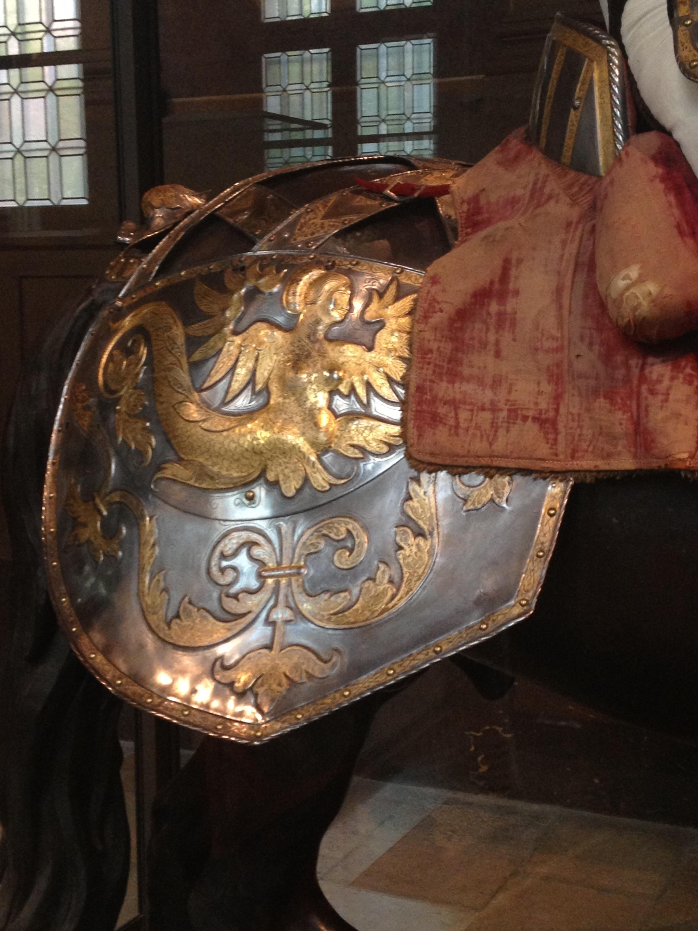 Armure de François Ier, détail