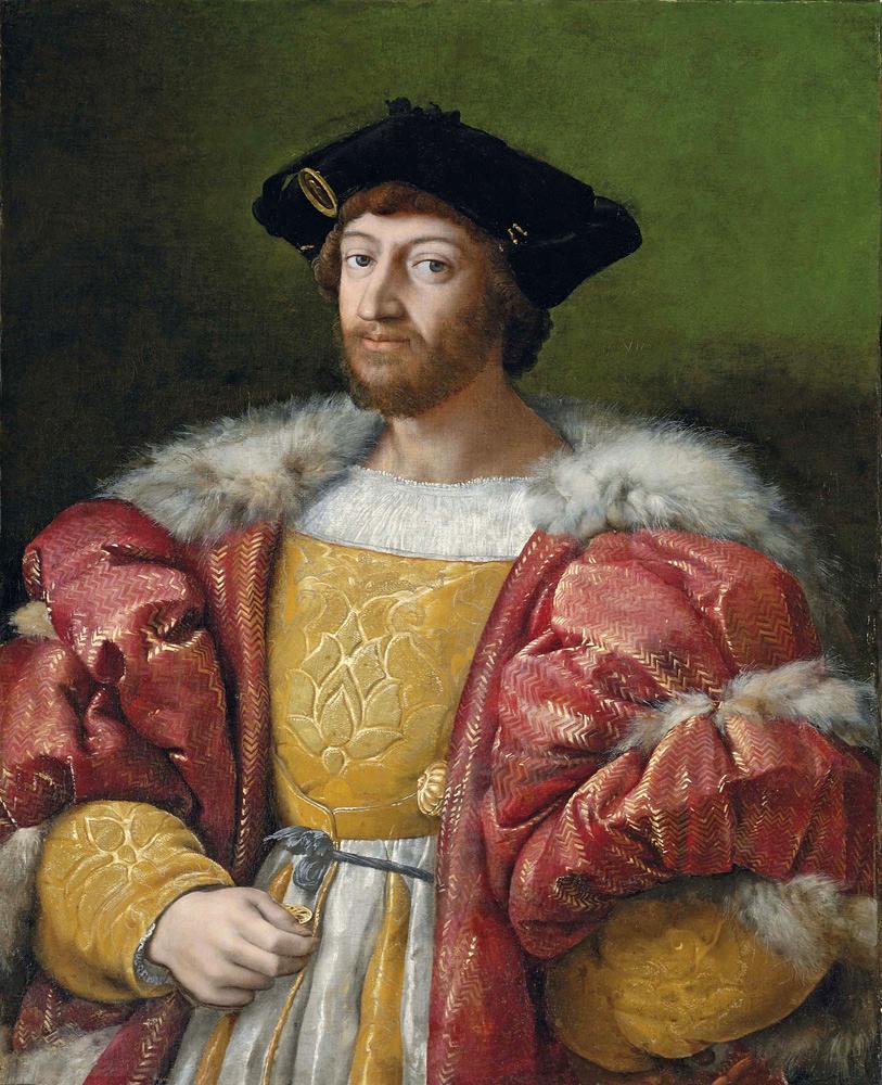 Vêtir les gentilshommes de la cour (1515-1520)